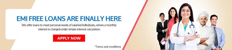 EMI Free Personal Loans